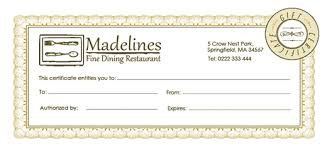 Free Holiday Gift Certificate Templates In Photoshop And
