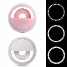 Led Light Phone Ring Selfie 36 Usb Led Light Ring Flash Fill Clip Camera For Iphone For Samsung Mobile Phone