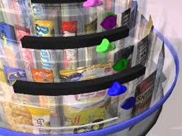 Countertop Vending Machines Classy Vista Vend Countertop Snack Machine YouTube