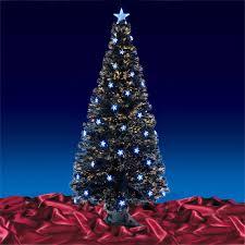 Fiber Optic Christmas Tree 6Ft  DungodinungoBlack Fiber Optic Christmas Tree