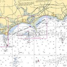 Connecticut Westbrook Duck Island Roads Nautical Chart Decor