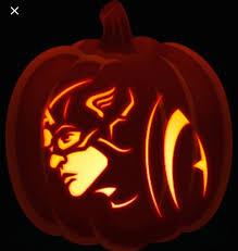 Captain America Pumpkin Designs Pin By Jasmine Sanchez On Halloween In 2019 Pumpkin
