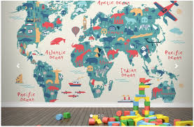 world map for your children s room kid s room and decor