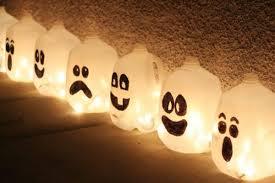 plastic milk jug jack o lanterns diy