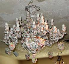 porcelain chandelier