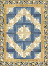 barn raising log cabin quilt pattern download from