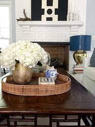 coffee table decor tray