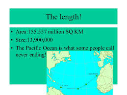 ocean by size the atlantic by tanaya hairtson the length area million sq km