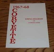 67 corvette wiring 1967 1968 chevrolet corvette wiring diagrams for complete chassis 67 68 chevy