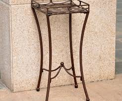 ... Large-size of Reputable Outdoor Metal Garden Planter Nailhead Square Plant  Stand Flower And Outdoor ...