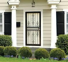 steel storm doors for home exterior door glass inserts depot canada security