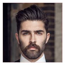 how to pick a hairstyle men along with oval face brush back
