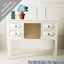 White furniture shabby chic Painted Old White Dressing Table With Drawers Busnsolutions Shabby Chic Furniture Painted Furniture Distressed Furniture