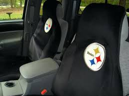 steeler seat covers pittsburgh steelers baby car