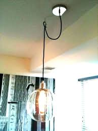 convert plug in light to ceiling fixture pendant light kit convert plug in to convert a