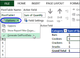 pivot table creates absolute reference