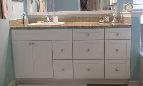 rta cabinets bathroom. White Shaker Vanity With Drawer Banks Rta Cabinets Bathroom B