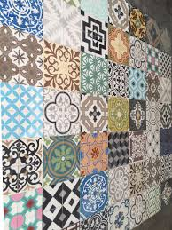 another cement tile patchwork for a vegan super cool taco place