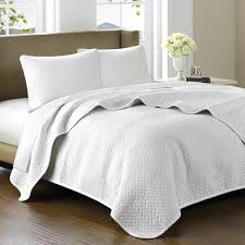 amazoncom hampton hill bellville cotton quilted coverlet set