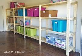diy garage shelves 5 ways to build
