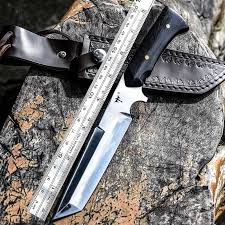 Voltron Portable tactical <b>outdoor</b> hunting <b>straight</b> knife, wild survival ...