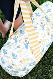 Kids Duffel Bag Tutorial & Kids Duffel Bag Pattern Adamdwight.com