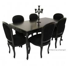 ornate dining room table and chairs. french carved dining table \u0026 6 chairs - black ornate room and e