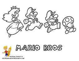 Daring Mario Coloring Pages Yoshi Free Wario Mario Kart