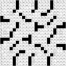 elizabeth c gorski s wall street journal crossword small change pannonica s write up