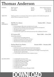 Microsoft Office Resume Templates 2018 Delectable Office Resume Template Download Commily