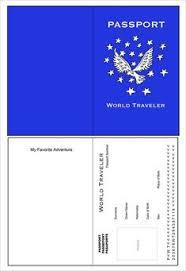 Free Passport Template For Kids Passport Template 100 Free Word PDF PSD Illustrator Format 29