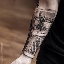 Comic Arm Lady Forman Tattoo 3d Tattoos Uk