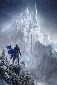 Winter castle, silentfield - ArtStation