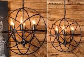 amazing home glamorous iron orb chandelier of metal world market iron orb chandelier challengesoing