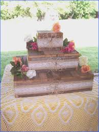 wedding cake stand reception decorations cupcake stands 3 tier rustic wood burlap lace wedding reception reclaimed
