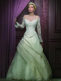 embracing trendy green wedding dresses pictures ideas guide to