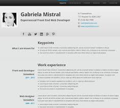10 Free Professional Html & Css Cv/resume Templates. 50