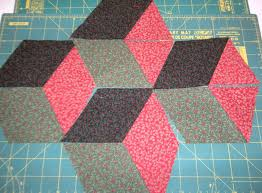 Life in the Scrapatch: Easy Tumbling Blocks Tutorial - Part 1 ... & Easy Tumbling Blocks Tutorial - Part 1 - Cutting Instructions Adamdwight.com