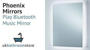 Phoenix Mirrors Play Bluetooth Music Mirror MI043