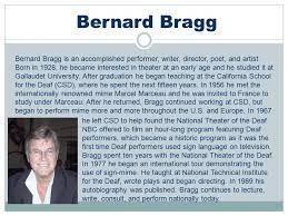 Image result for Bernard Bragg(Photos)