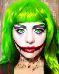 female joker makeup why so serious