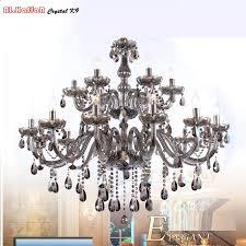 aliexpress modern crystal chandelier lighting smoky grey regarding amazing residence grey crystal chandelier remodel