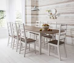 Retro Dining Tables White Kitchen Chairs Brown White Kitchen Decoration Using Round