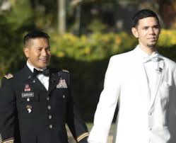 WATCH Army officer and partner join in civil union at Air Force