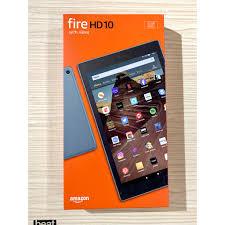 """Máy tính bảng Kindle Fire HD 10 - 2019 9th - 10.1"""" 1080p full HD, 32 GB -  Hàng Amazon chính hãng 3,549,000đ"""