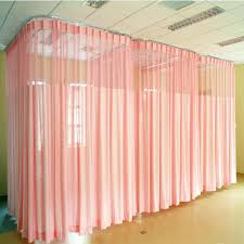 2018 hospital fireproof solid color curtains room divider curtain 49 rod home depot