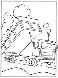 Kids N Fun 32 Kleurplaten Van Vrachtwagens