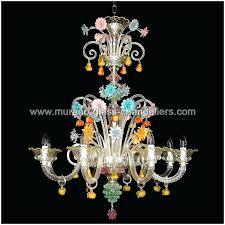 murano glass chandelier modern glass chandelier modern murano style glass chandelier