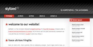 80 Free 2 Column Website Templates