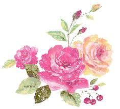 Znalezione obrazy dla zapytania gif kwiaty